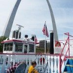 Paddle boat ride down the Mississippi
