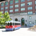 St Louis with kids: The Budweiser trolley to take you to your free samples
