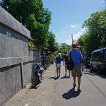 Ditch the pram, Ubud streets are narrow