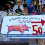 Warung Babi Guling for some roast pig