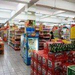 The inside of Bintang Supermarket