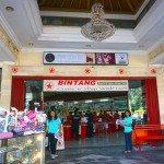 Entrance of Bintang Supermarket
