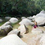 Take a dip at Mossman Gorge