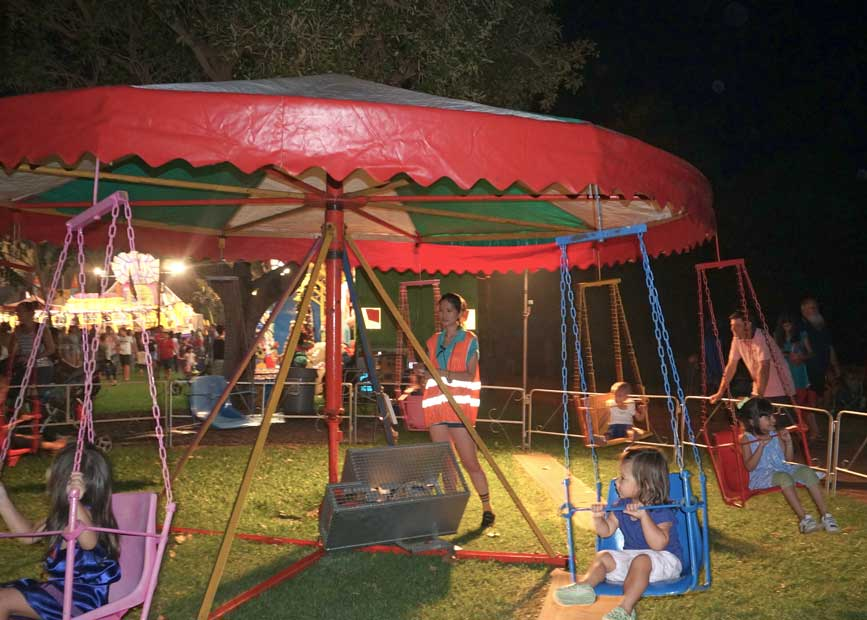 Rides galore for kids, Glenti