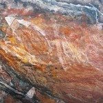 X-Ray Aboriginal rock art at Ubirr