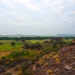 Lookout at Ubirr from the top of the rocks