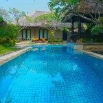 Pool fences are optional in Bali