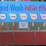 Hand washing station at the Animal Nursery (work in progress shot)