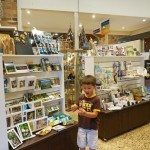 The kids loved the giftshop at the Rainforest Centre