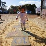 Hopscotch at Emu Ridge Eucalyptus Distillery