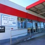 The unassuming Kangaroo Island Fresh Seafood by the Caltex