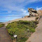 Boardwalk ends, fun begins at Remarkable Rocks