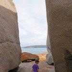 Keep kids close at Remarkable Rocks