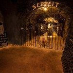 The expansive cellars at Seppelts. Photo: David Hannah. Victorian Wine Industry Association