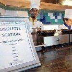 Omelette station WindJammer Buffet, Legend of the Seas