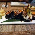 Izumi soft shell crab roll