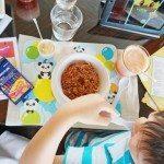 Kids menu were a hit at The Lounge, Four Seasons Hotel Hong Kong