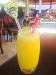 Fresh squeezed juice at Bumbu Bali