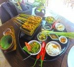 Delicious set menu at Bumbu Bali