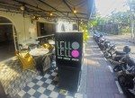 Outdoor seating at Lello Lello Bali