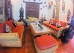 Comfortable seating areas at Murnis' Warung