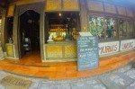 Entrance to Murni's Warung, Bali.