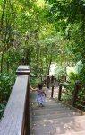 132 steps down to explore Sentosa Island. Sofitel Singapore Sentosa Resort and Spa.