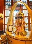 Classic golden coffee machine at Kwee Zeen. Sofitel Sentosa Resort and Spa.