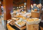 Fresh baked baguette and croissants Kwee Zeen. Sofitel Sentosa Resort and Spa.