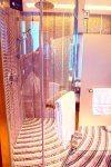 Sofitel Singapore Sentosa Resort and Spa. Shimmering pink mosaic tiled shower