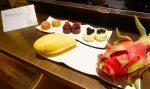 Sofitel Singapore Sentosa Resort and Spa. Tropical fruit and sweet treats at turndown