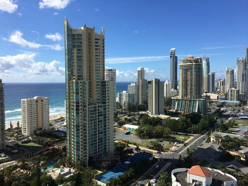 Gold Coast city views