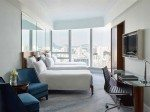 Family trio room with a view. Image: Cordis Hotel Hong Kong