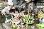 Peninsula Academy programme, cooking with kids. Image: The Peninsula Hong Kong