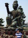 Six Devas make offerings to Tian Tan Big Buddha