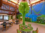 Bright and cheerful Club Med Bali kids space