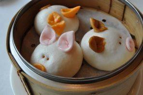 Three Little Pigs Barbecue Pork Buns. Image: eefeewahfah CC