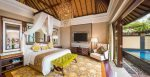 The Strand Villa bedroom at St. Regis Bali