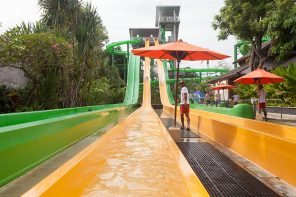 Fab slides at Waterbom Bali