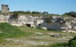 Limestone Quarry where Nelson Mandela laboured and founded Mandela University.