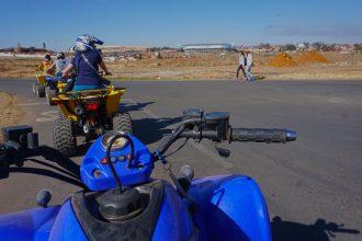 Soweto Quad Bike Tour, Johannesburg, South Africa.