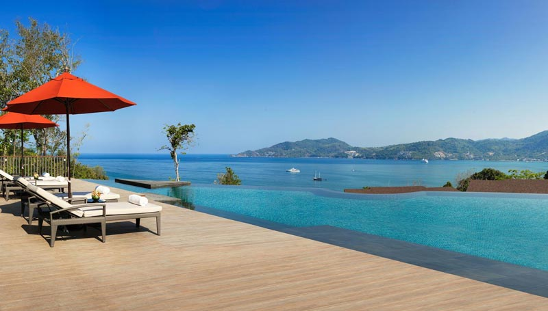 Amari Phuket's Clubhouse views