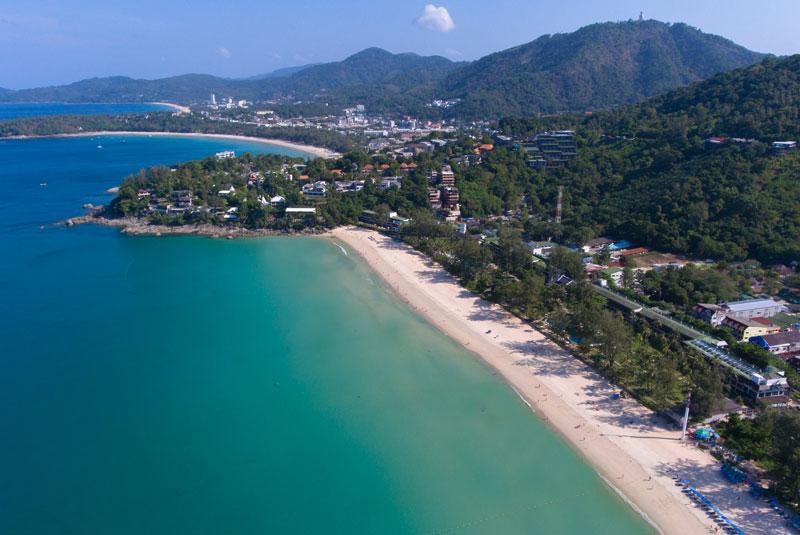 Kata - family friendly and quiet beachside location. Image courtesy: Katathani Phuket Beach Resort.