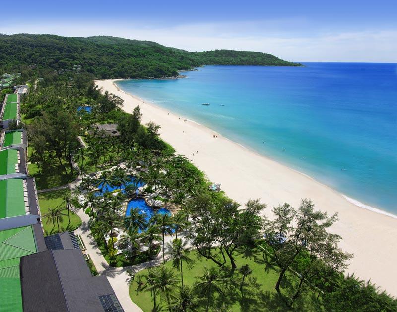 Katathani occupies the beautiful Kata Noi Beach, Phuket
