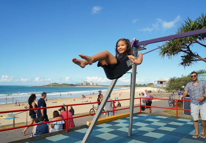 Mooloolaba Beach playground