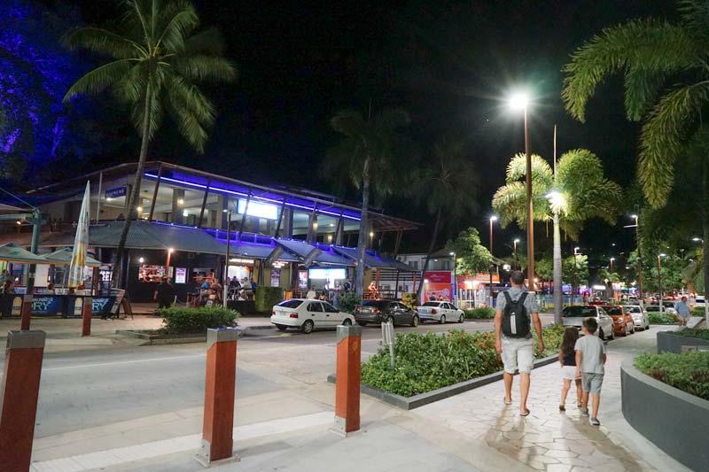 Night Walk - Main Street Airlie Beach