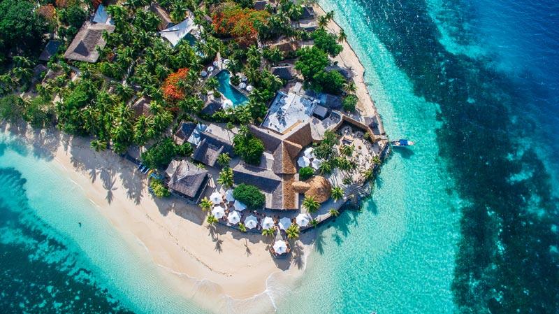 Perfect Castaway Island. Image: Matt Bauer